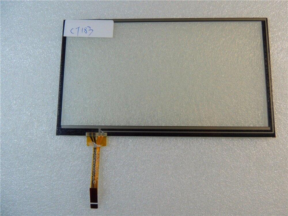 Nueva pantalla táctil original 6,5 pulgadas 155*89 pantalla táctil 5263 original para control de coche DVD video navegación fuera de pantalla