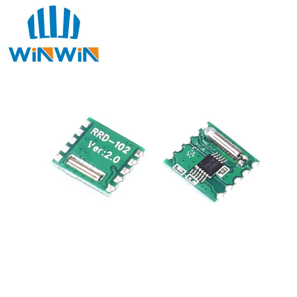 5 uds FM radio estéreo para RDA5807M módulo inalámbrico Profor RRD-102V2.0