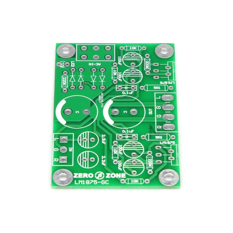 SUQIYA-GC wersja sterownika podwójny kanał LM1875 moc amplifikator PCB puste pokładzie żółci moc amplifikator PCB