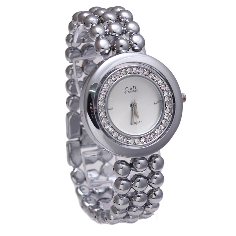 XQ002 G&D Women's Quartz Wristwatches Stainless Steel Relojes Mujer Luxury Crystal Dress Bracelet Watch Relogio Feminino enlarge
