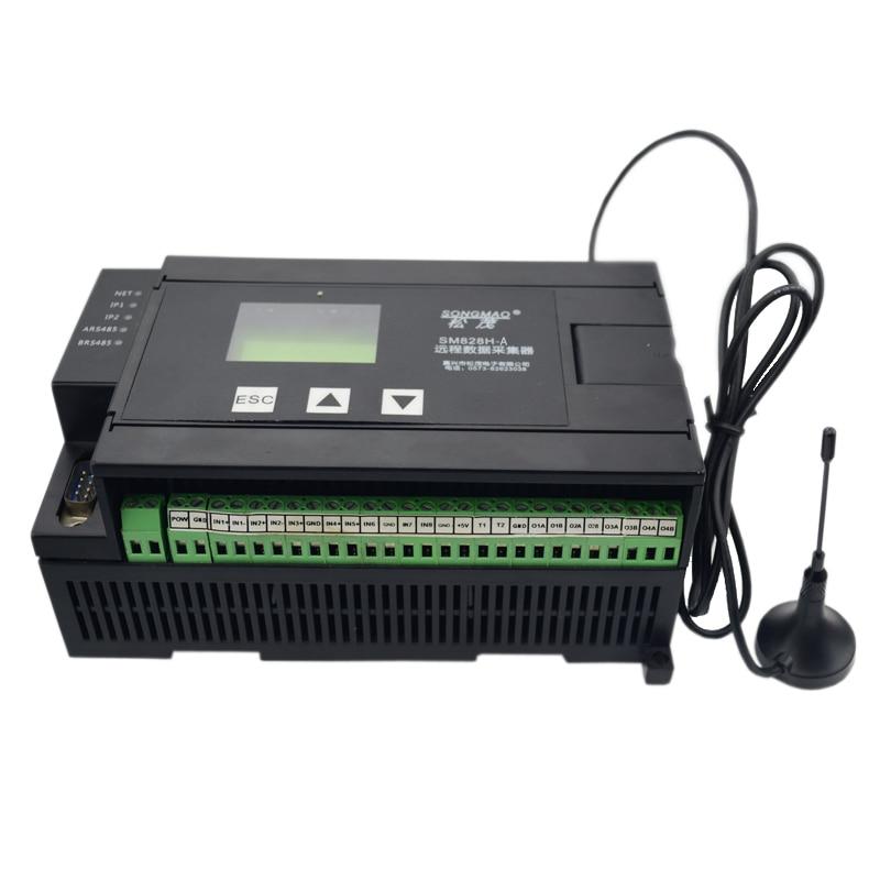 SM828H-B عن اكتساب البيانات وحدة جي بي آر إس RTU البيانات جامع