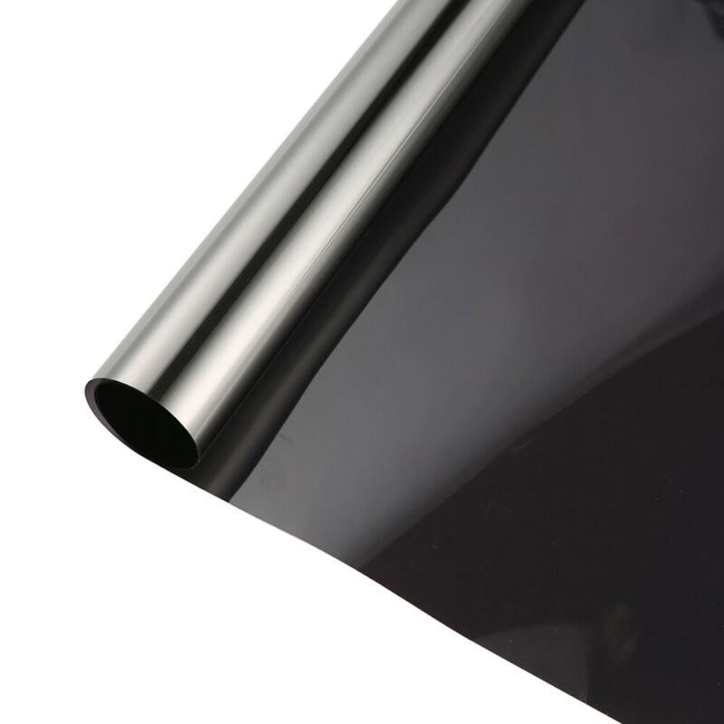 Ventana de vidrio película de construcción ventana de un solo camino sombreado protector solar 30CM * 2M SALA DE PROTECCIÓN Oficina