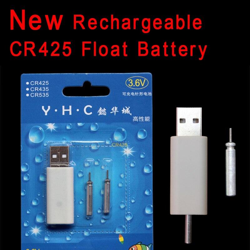 NOVO! Bimoo Um Conjunto de Bóia De Pesca Eletrônica CR425 Bateria Recarregável para a Pesca Da Noite Vara do Fulgor Flutua