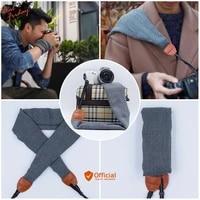 neck shoulder camera dslr belt bag case scarf hand grip strap for gopro sony nikon fuji olympus canon 6d 80d 5d mark iii iv 70d