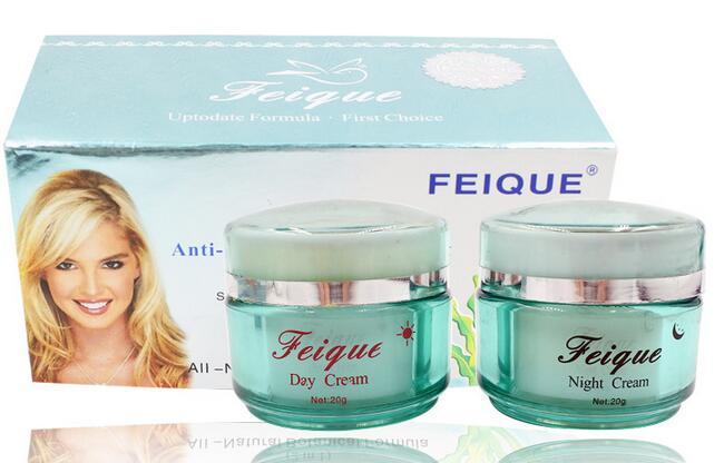 Producto en oferta, cuidado de la piel FEIQUE, alga marina, crema blanqueadora para el cuidado de la cara arrugas 20g * 2 /1 Juego
