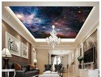 custom photo wallpaper 3d ceiling wallpaper murals night sky star sky ceiling zenith mural wall papers for living room decor