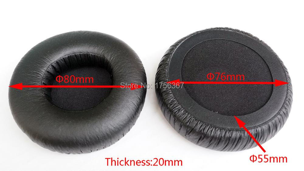 75mm Cushion ear pads earpads earmuffes for 3M PELTOR Safety headsetAirport Traffic Skiing protection Soft and comfortable enlarge