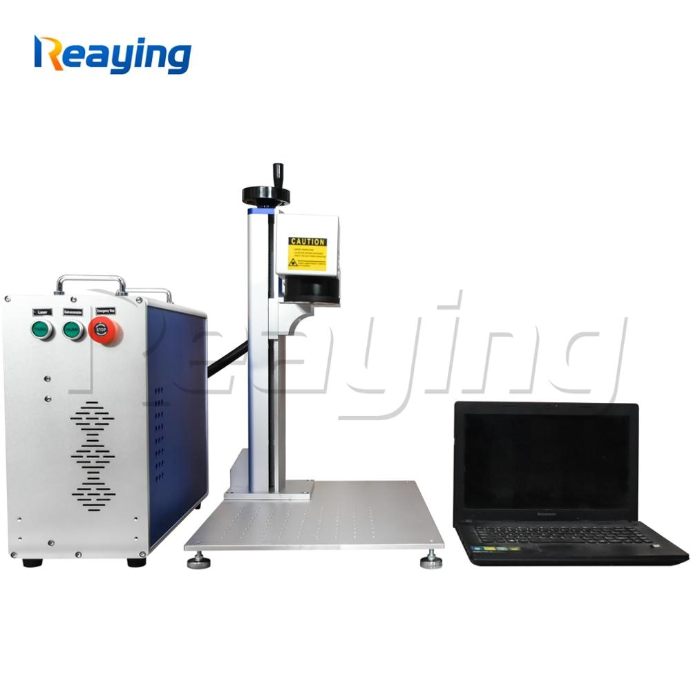 Mini escritorio portátil 20W 30W 50W 100W IPG Raycus CNC Metal fibra óptica láser marcado/máquina de corte