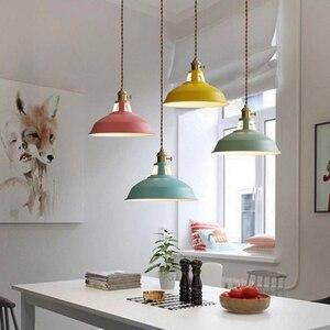 Ajustable Pendant Light Modern Pendant Ceiling lamps Luminary Loft Hanging Lamp Colorful Hanging Light Suspension Luminaire Home