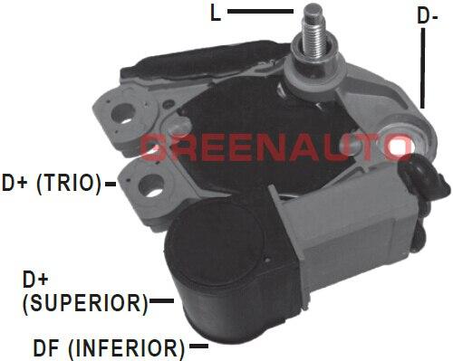 14V nuevo regulador de voltaje del alternador 493820 para NISSAN para GM para TROLLER para alternador OEM 439428 sd10b012 sd10b017