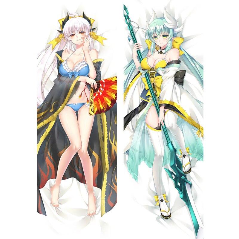 Fundas de almohada de Anime Fate/Grand Order/Zero, funda de almohada Sexy 3D de doble cara, funda de almohada personalizada FT02A