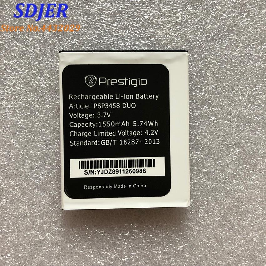 For Prestigio PSP3458 PSP3458 wize O3 1550mah Mobile Phone Li-ion Battery Replacement