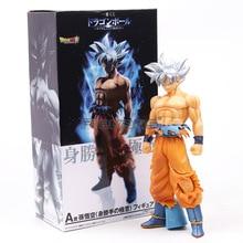 26cm PVC Dragon Ball Super Ultra Instinct GOKU Jiren Figure Migatte figurine daction jouets modèle Goku blanc dieu DBZ Figurines
