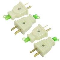 4 Pcs AC 250V 16Amp 2 Pin US AU Power Connector Head Electrical Plug