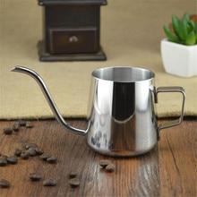 Realand En Kaliteli 18/8 Paslanmaz Çelik Gooseneck Kahve Makinesi Üzerine Dökün Asılı Kulak Damla Kahve Uzun Bacalı Pot çay su ısıtıcısı