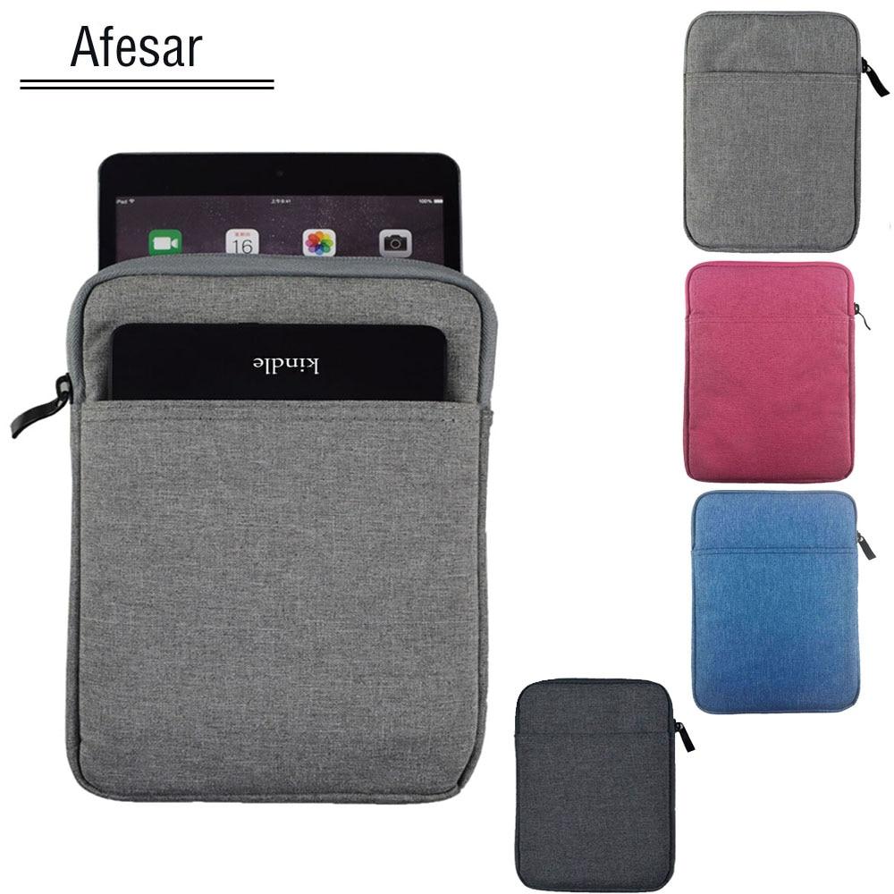 Универсальная сумка для планшета 7 7,9 дюйма, чехол для iPad Mini Tab Note A6 7,0 zenpad z380 ONYX BOOX PocketBook SURFpad Huawei sleeve