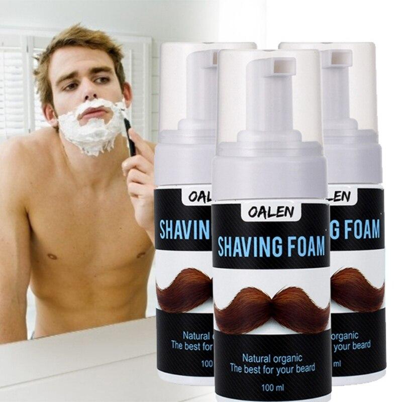 Men Shaving Foam Shave Gel Shaving Cream Soap For Shaver Razor Barber Salon Shave Beard For Men Man New Ariirval
