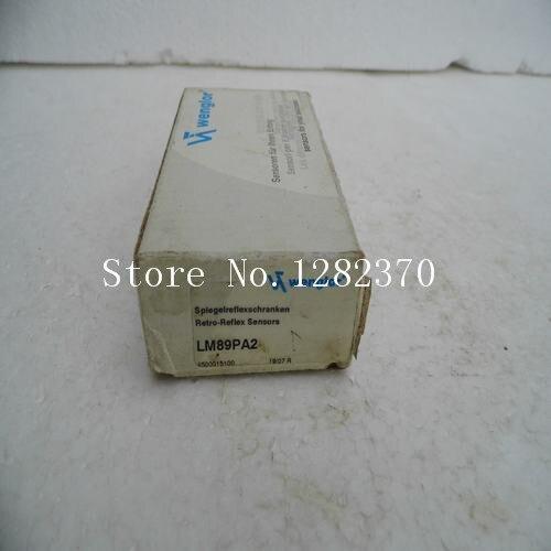 [SA] جديد الأصلي أصيلة بقعة wenglor الاستشعار التبديل LM89PA2