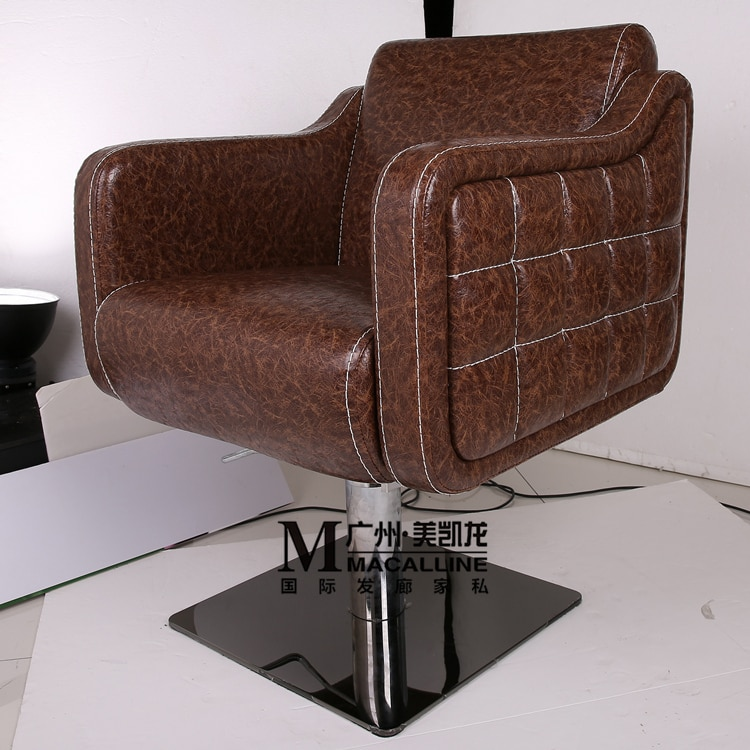 Стул для стрижки волос в европейском парикмахерском Парикмахерское кресло. Стул с подъемным механизмом Лидер продаж