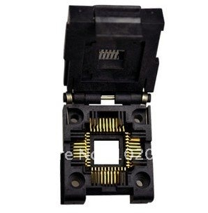 100% NEW PLCC44 IC Test Socket / Programmer Adapter / Burn-in Socket (IC51-0444-400)
