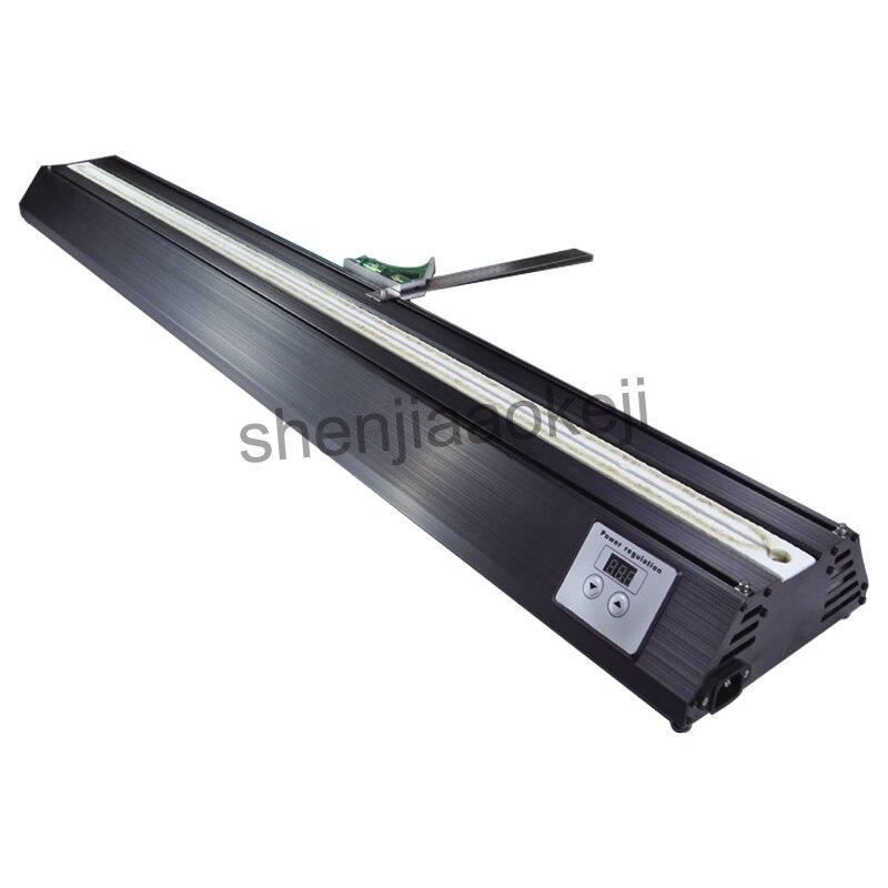 Máquina dobladora de acrílico tipo seco, calentador de plexiglás, tablero de plástico PVC, doblador canales publicitarios, máquina dobladora eléctrica 220v