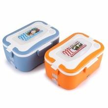 1.5L Elektrische Lebensmittel Heizung Lunch Box Edelstahl Innen Topf 12 V/24 V Tragbare Lebensmittel Container Wärmer Mittagessen box Heizung Reis Fall