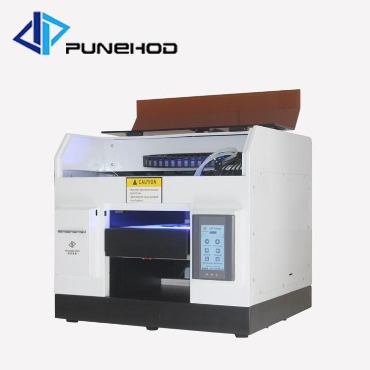 Impresora de alta calidad UV LED de cama plana uv con tinta de 5*100ml