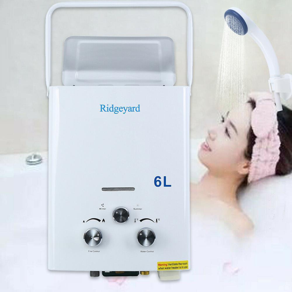 (Отправка из США) портативный мини нагреватель для горячей воды 6 л gpm ванны