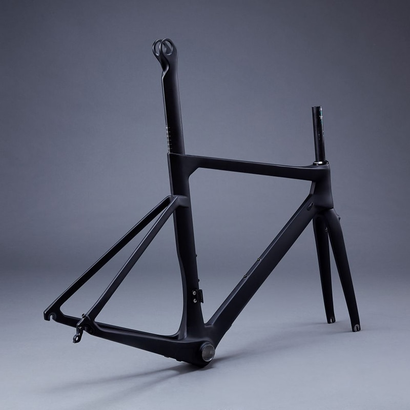 AERO bicicleta de carretera de carbono cuadro de bicicleta Cuadro De Carbono FM169/47/50/53/56/58 CM BB86/BSA soporte inferior