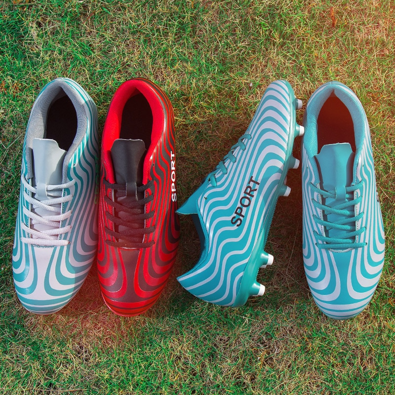 Zapatos de fútbol al aire libre para hombres, botas de entrenamiento para adultos, para niños, mujeres Alpha Menace Shark Original AG FG, tacos, talla 45