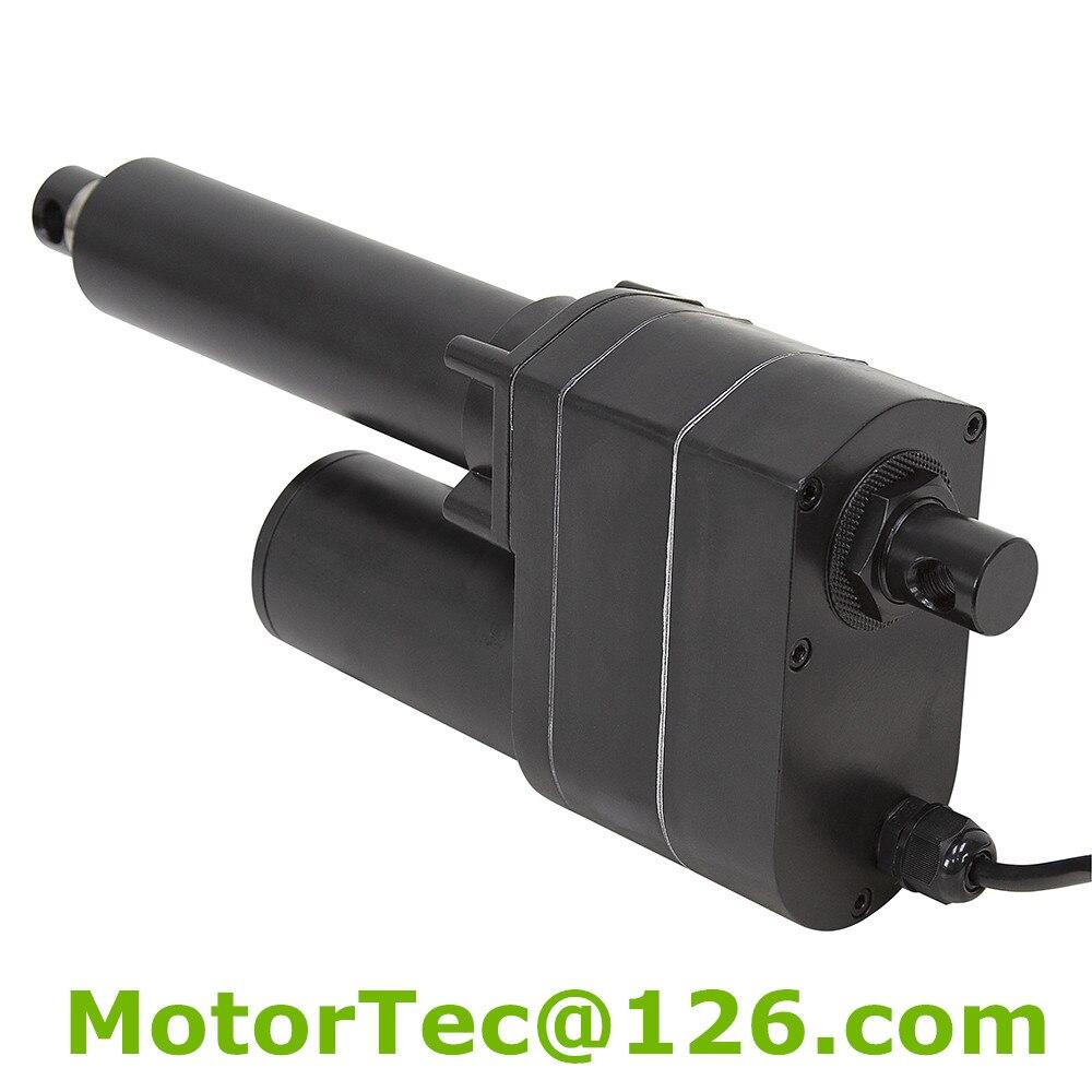 LV-30 1000KG fuerza 160 mm/s velocidad 200mm carrera 12V 24V DC industria actuador lineal con potenciómetro posición retroalimentación