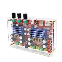 AIYIMA TDA3116 2.1 Channels Bluetooth Digital Amplifier Board Amplificador Amplifiers Audio Board 2x60W+100W With Case
