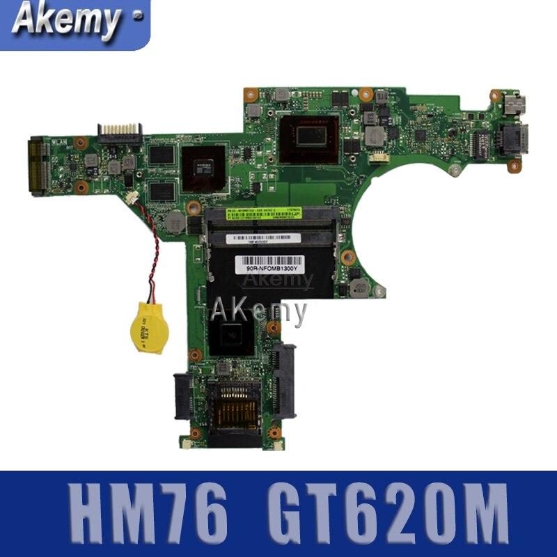U47VC portátil Motherbaord para For Asus procesador placa base HM76 GT620M prueba OK