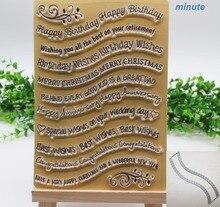 Blume Spitze Schneiden Stirbt und Stempel Set buchstaben stempel und stirbt für Papier Karte Handwerk Gebogene Welle Spitze Grenze sterben für Scrapbooking