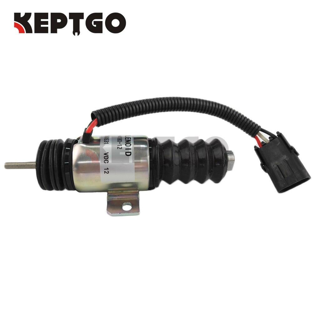 ملف لولبي لإغلاق الوقود مناسب لـ Mustang Gehl ، انزلاقي ، ديزل 930A 420-35448 12V