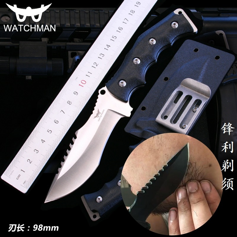 Watchman MH133A Knife Fixed Blade Straight knife Tactical knives with Kydex Hunting Survival EDC Tool Collection Factory sale 2017 hot sale sale made in japan bell knife blade for model skiving machine best seller with high quality nippy 301a knife blade