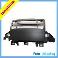 Free shipping-Car refitting DVD frameDVD panelDash KitFasciaRadio FrameAudio frame for 09 Toyota Prado J120