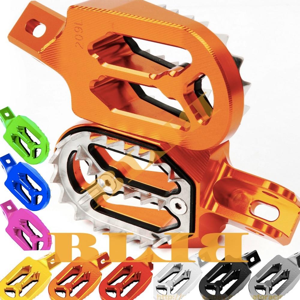 Для KTM 250-450 SX-F & 250 XC-F 250XC-F & 200-530 XC-W & 690 Enduro/R 690R 690 Enduro CNC Motorcross подножки для ног Dirt Bike