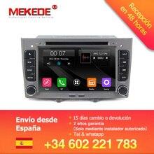Mekede 2din no traço carro especial dvd estéreo de navegação para peugeot 408 & 308 cinza com gps rds 3g swc frete grátis