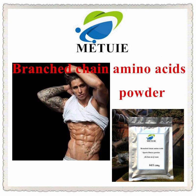 HP2006-N cadena ramificada aminoácido (BCAA) polvo zhi lian ji suan alta calidad deportes fitness envío gratis