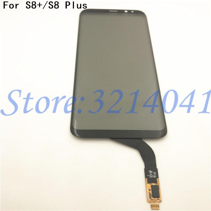 Original 6,2 zoll Touch screen Für Samsung Galaxy S8 plus G955 G955F Touchscreen Digitizer Sensor Reparatur teile