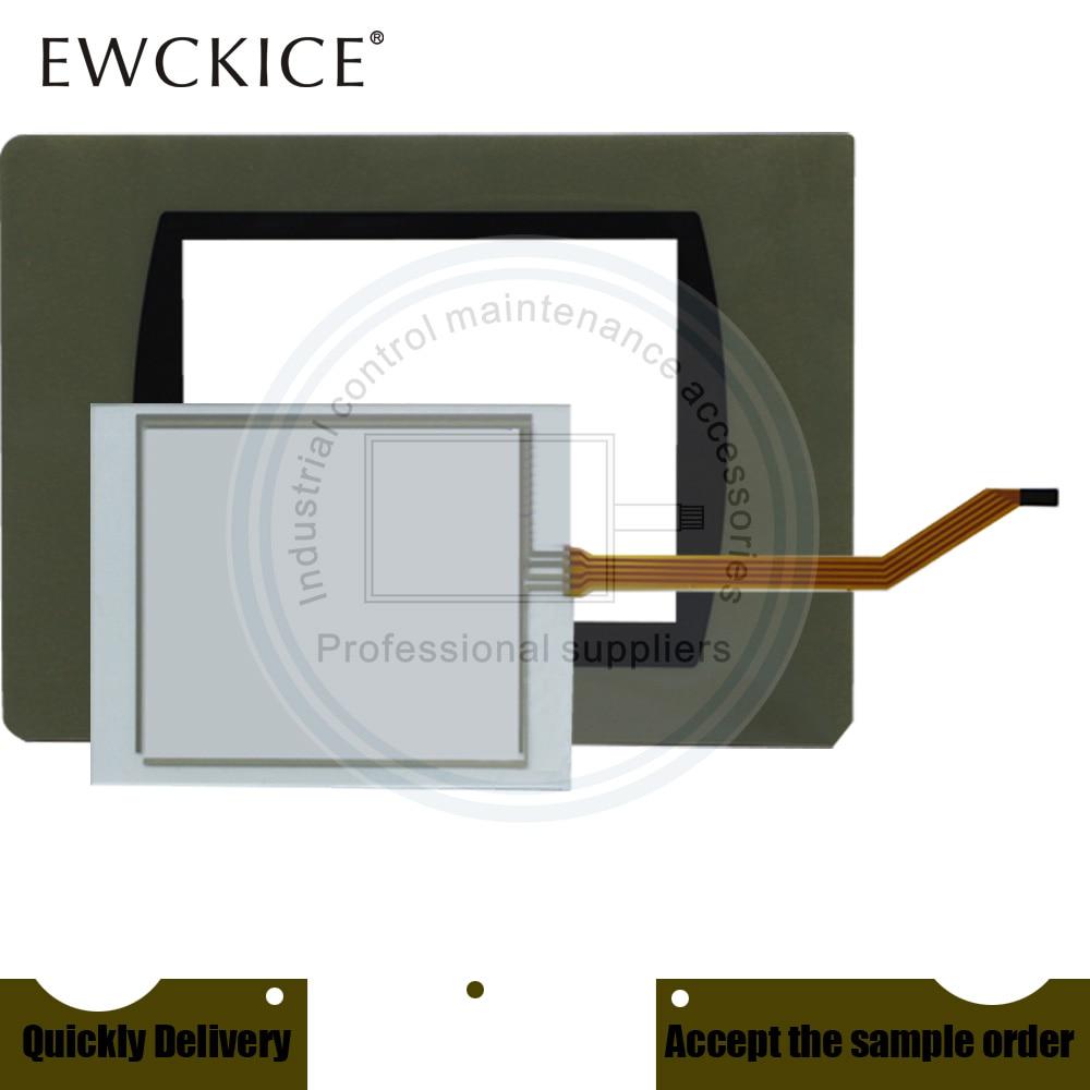 Nuevo PanelView C600 2711C-T6 2711C-T6T/HMI PLC pantalla táctil y etiqueta frontal panel táctil y Frontlabel