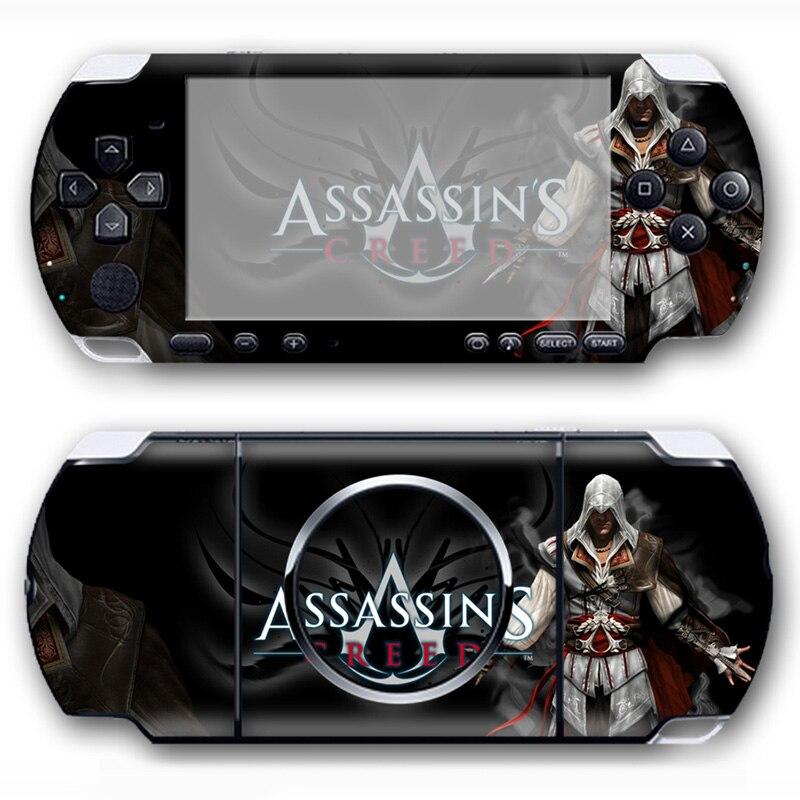 Популярная игра видео ПВХ крышка всего тела наклейки виниловая кожа Наклейка для PSP 3000 консоли