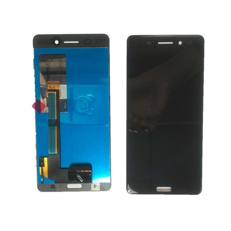 Para Nokia 6 N6 6 LCD Monitor de pantalla Digitalizador de pantalla táctil Sensor reemplazo del ensamblaje del panel herramientas gratis