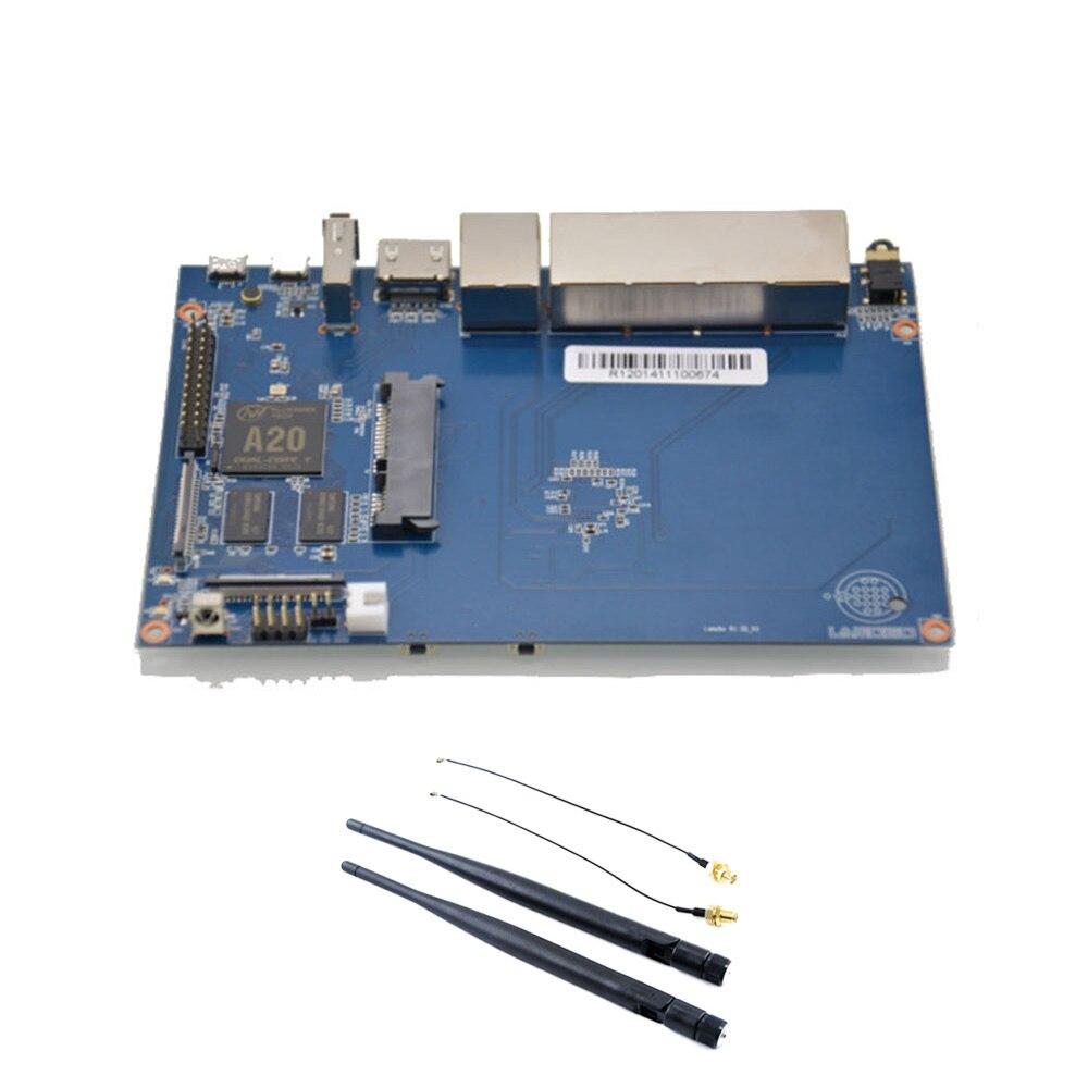 Banana PI BPI R1 Cable de hogar inteligente 2G LPDDR3 Placa de desarrollo de fuente abierta placa única compatible con raspberry pi
