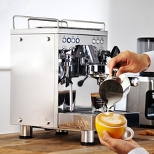 WPM (WELHOME) Italiaanse semi-automatische koffiemachine commerciële huishouden transformator versie KD-310VPS cafetera