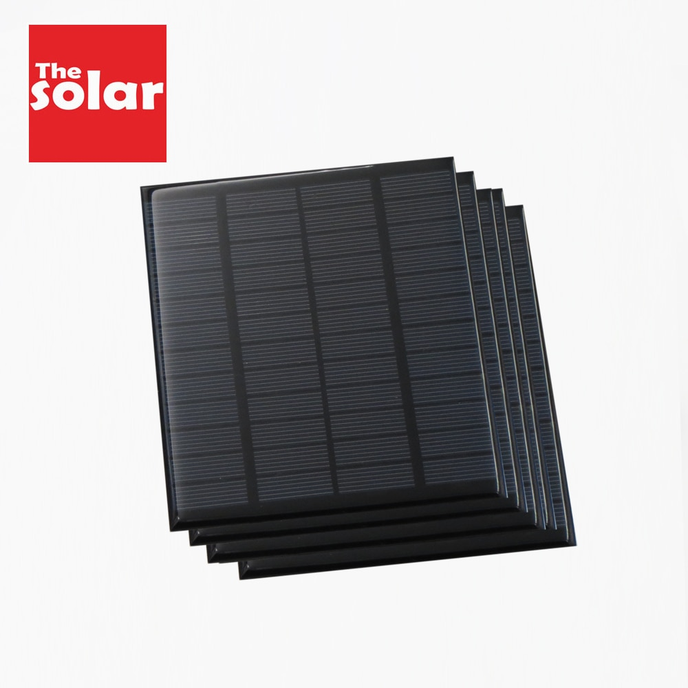 Solar Panel 12 V Volt Battery Cell Phone Chargers 12V DC Mini Solar kit DIY For Portable Car Bus RV External Battery Charge