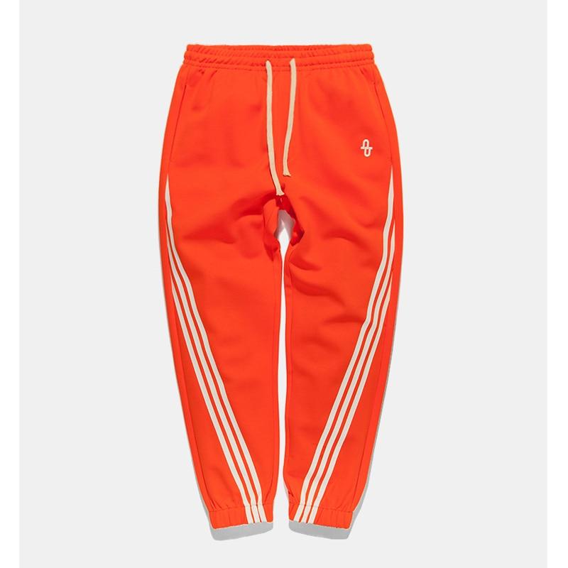 2018 Fashion New Arrival Autumn Vintage Patchwork Stripe Harem Pants Mens Casual Joggers Sweatpants Loose Male Trousers