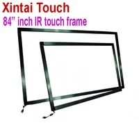 84 inch ir touch frame 10 points usb infrared touch frame panel multi touch screen overlay for all in one monitor pc