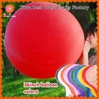 36 inches latex giant balloon helium globos birthday wedding party decor latex ballons multi color wholesale 200pcs big balloons